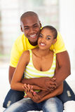 Cute african couple Stock Photography