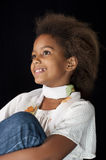 Cute African girl Royalty Free Stock Image
