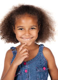 Cute african girl Royalty Free Stock Photo