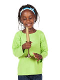 Cute african girl Stock Photo