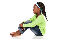 Cute african girl Stock Images
