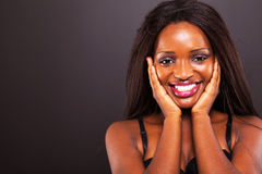 Cute african woman Royalty Free Stock Image