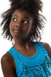 Cute afro Royalty Free Stock Image