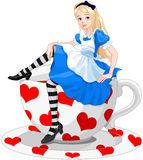 Cute Alice Stock Image