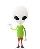 Cute alien Stock Image