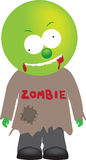 Cute alien style zombie monster Royalty Free Stock Image