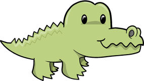 Cute Alligator Vector Illustration Royalty Free Stock Image