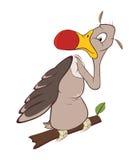 Cute American Condor Cartoon Stock Images