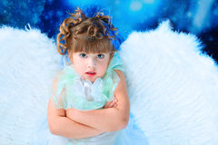 Cute angel Stock Photos