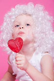 Cute  angel Stock Images
