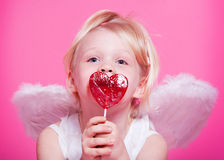 Cute  angel Royalty Free Stock Images