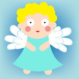 Cute angel Royalty Free Stock Image