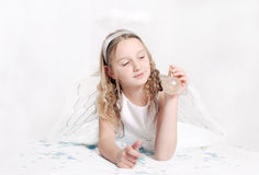 Cute angel Stock Photography