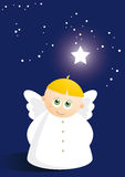 Cute angel 1 Stock Images