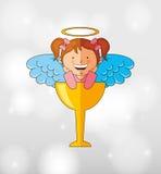Cute angel design Royalty Free Stock Photo