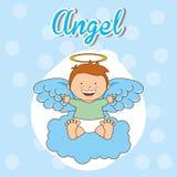 Cute angel Stock Photography