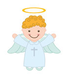 Cute angel. Design, vector illustration eps10 graphic Royalty Free Stock Photo