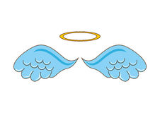Cute angel. Design, vector illustration eps10 graphic Royalty Free Stock Images