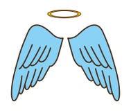 Cute angel Stock Photos