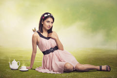 Cute angel Royalty Free Stock Photography