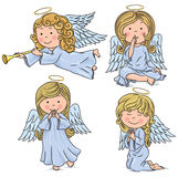 Cute angels Stock Photo