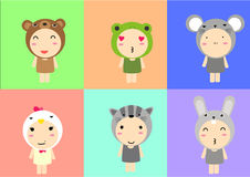Cute animal Stock Image