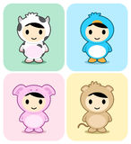 Cute animal costume Royalty Free Stock Photography