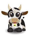 Cute animal cow Royalty Free Stock Photography