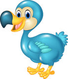 Cute animal dodo bird  on transparent background Stock Images