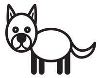Cute animal dog - illustration Stock Image