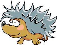 Cute animal hedgehog. Cute little hedgehog animal color vector illustration Royalty Free Illustration