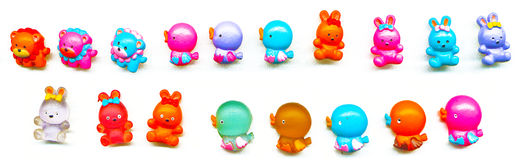 Cute animal icons Royalty Free Stock Photography
