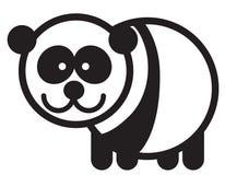 Cute animal panda - illustration Stock Photography