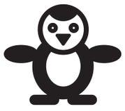 Cute animal penguin - illustration Royalty Free Stock Photos