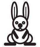 Cute animal rabbit - illustration Stock Photo