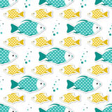 Cute animal seamless pattern Royalty Free Stock Image