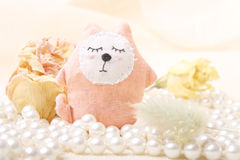 Cute animal toys Royalty Free Stock Photo