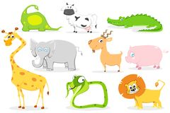 Cute Animals Royalty Free Stock Image