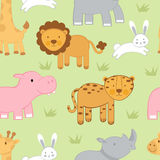Cute animals background Royalty Free Stock Images