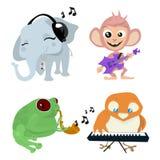 Cute Animals Band Stock Photo