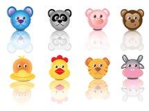Cute Animals Cartoons Royalty Free Stock Image