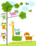 Cute animals design Stock Photography