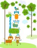Cute animals design Stock Images