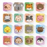 Cute animals design stock illustration