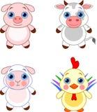 Cute animals set 03 Royalty Free Stock Image