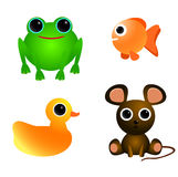 Cute Animals Set 1 Stock Photography