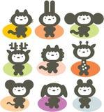 Cute animals. Royalty Free Stock Photos