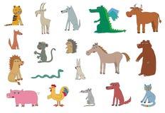 Free Cute Animals. Vector Illustration Stock Photo - 176228440