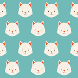 Cute animals vector pattern Royalty Free Stock Photo