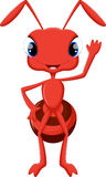 Cute ant cartoon Stock Photo